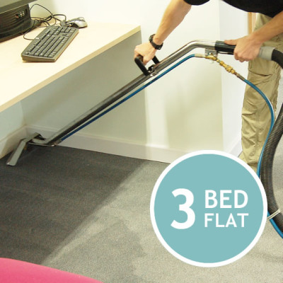 CARPET CLEANING 3 Bed Flat