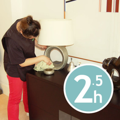 DOMESTIC CLEANING 2.5 hours