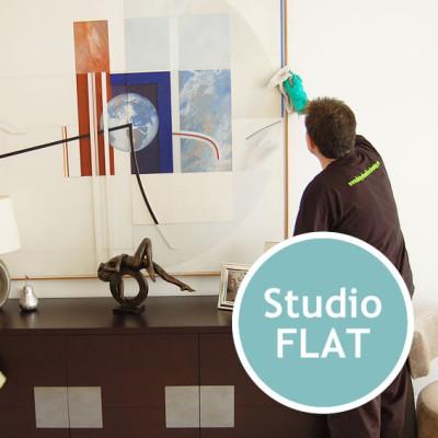 END OF TENANCY CLEANING Studio Flat
