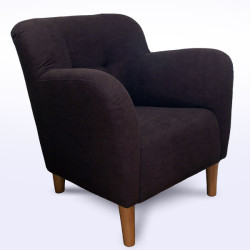 Upholstery cleaning armchair