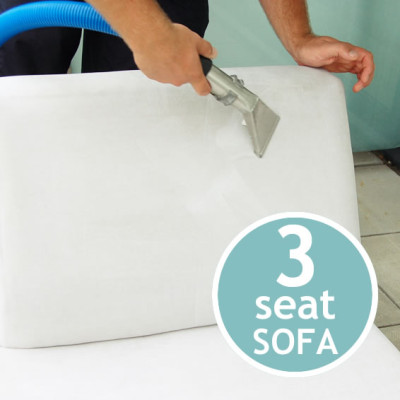 UPHOLSTERY CLEANING Three Seat Sofa